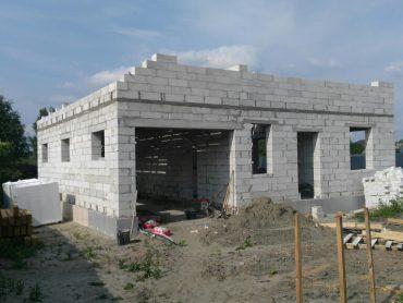 Строительство дома из пеноблока (Май 2017)