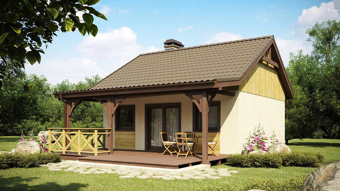 построить одноэтажный дом