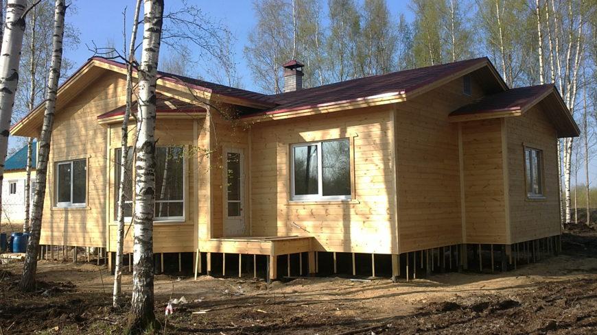 Строим каркасный дом за городом