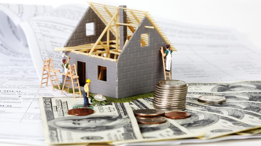 Как взять деньги на строительство у банка?