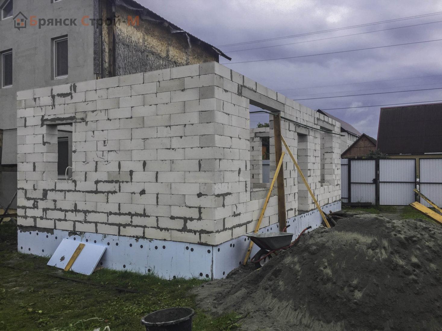 Пристройка к дому в Брянске